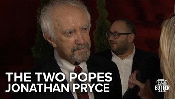 The Two Popes: Jonathan Pryce: I would be the better Pope | Extra Butter