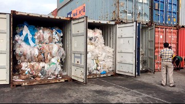 Cambodia says plastic waste shipments came from US, Canada