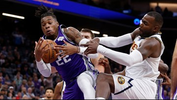 Sacramento Kings remain winless after losing to the Denver Nuggets 101-94