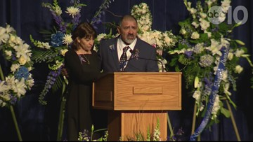 Father of slain Davis officer on her love of the community