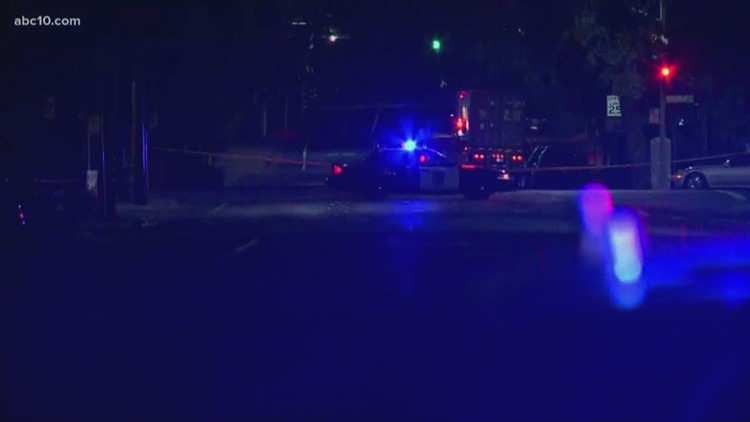 Armed masked man shot and killed by police in Land Park, officials say