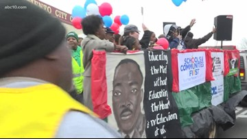 Sacramento honors the memory of Martin Luther King