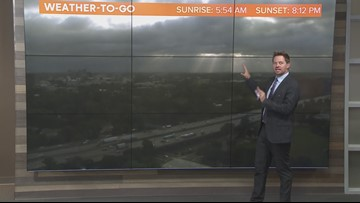 Local afternoon weather: May 16, 2019