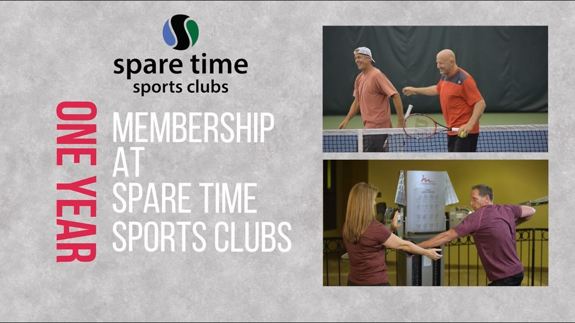 Enter to Win Spare Time Sports Clubs 1-Yr Membership + Please Donate Today!