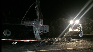 Two killed after SUV, semi-truck collide on I-5 in Yolo County, CHP confirms