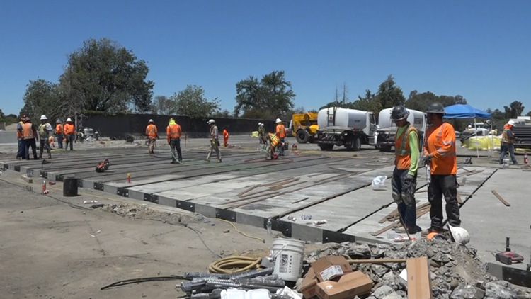 Caltrans says innovative 'accelerated bridge construction' method is faster, safer