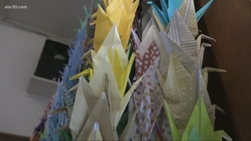 Parkview Presbyterian Church supports Japanese interment camp survivors with paper cranes
