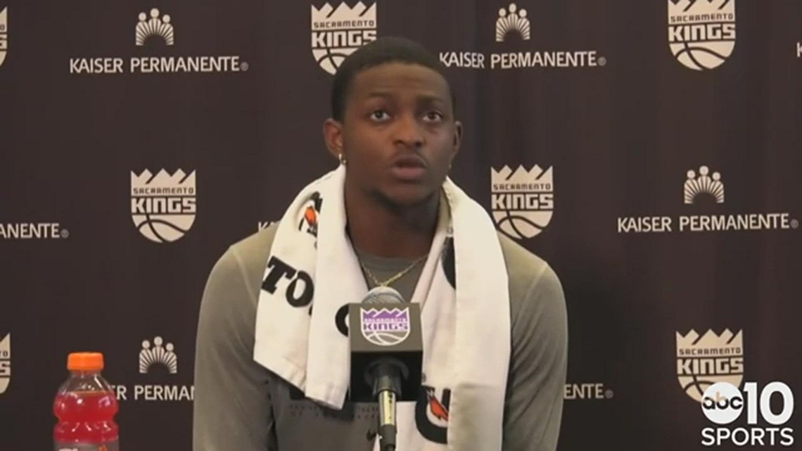 De'Aaron Fox on adding weight in the offseason, pressure on Sacramento Kings to make playoffs