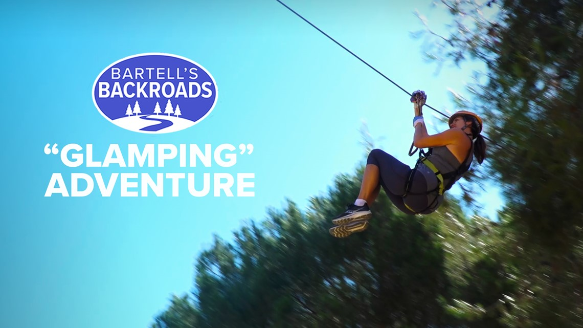 'Glamping' and adventure at Santa Paula campground   Bartell's Backroads