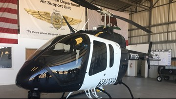 Stockton's eye in the sky the first in police department history