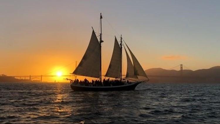 Sunset Sail on SF Bay
