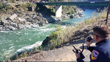 Rescuers search for distressed swimmer at American River confluence in Placer County