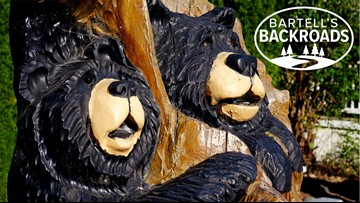 Chainsaw artists make the redwoods their work of art | Bartell's Backroads