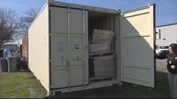 Mobile animal container ready for disaster in San Joaquin County