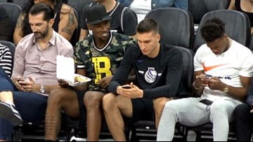 Harry Giles of the Kings brings Panda Express to summer league game vs. Lakers