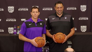 'We're ready to get to work' | Luke Walton introduced as new head coach of Sacramento Kings