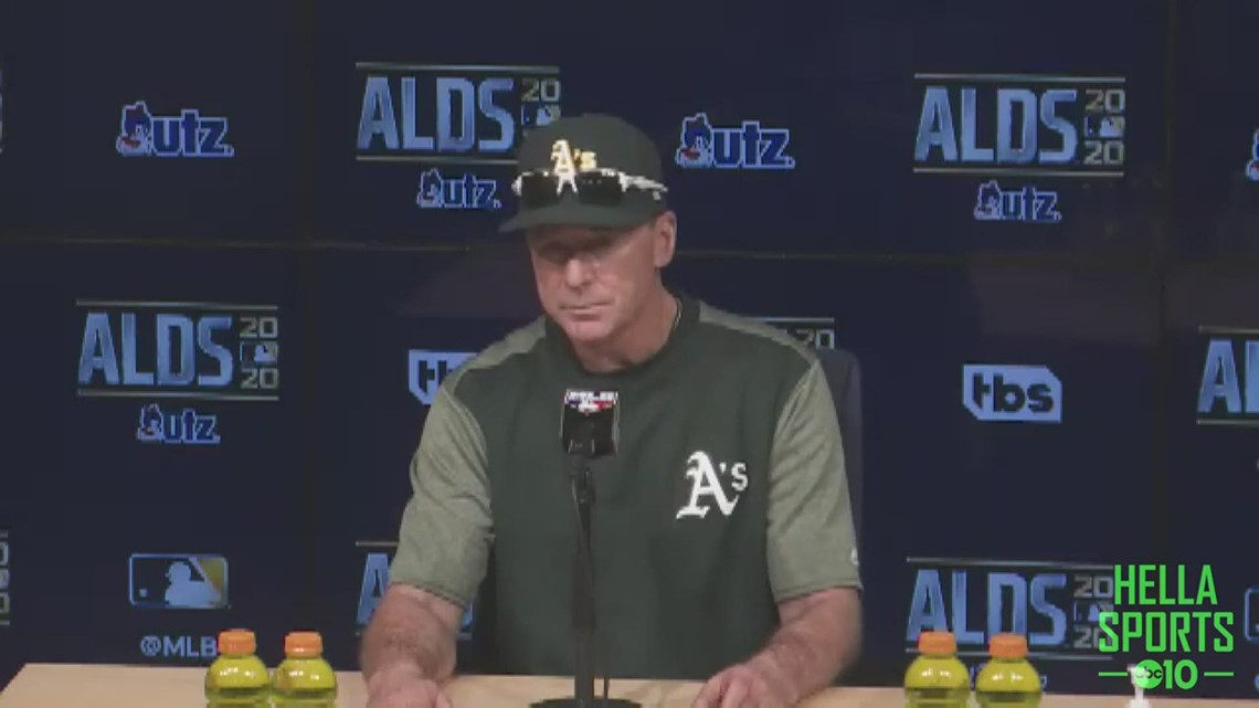 Oakland A's manager Bob Melvin on disappointing postseason exit in ALDS loss to Houston Astros