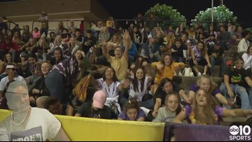 Linden Lions take a bite out of the Bret Harte Bullfrogs 43-27
