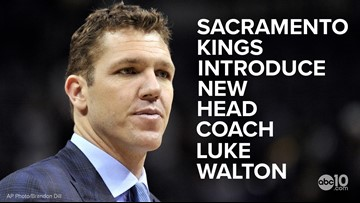 Luke Walton introduced as Sacramento Kings' new head coach | Full press conference