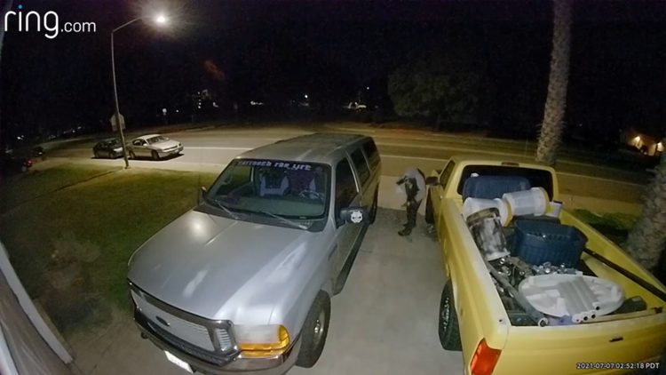 'Smile, loser'   Turlock family thwarts suspected catalytic converter theft with a note