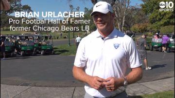 Pro Football Hall of Famer Brian Urlacher in Sacramento | FULL INTERVIEW