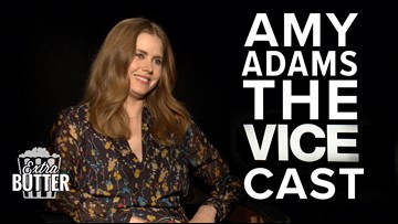 Amy Adams talks Christian Bale's weight gain for 'Vice.'