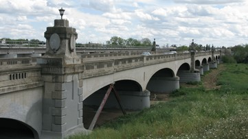 Stanislaus County tearing down Modesto bridge so outdated, school buses can't legally cross it
