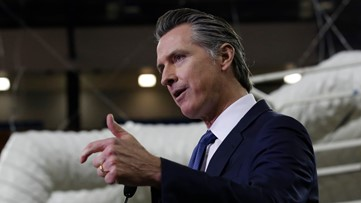 Gov. Newsom directs Californians to mental health assistance for coronavirus anxiety