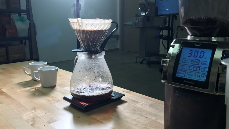 Coffee Center pour over