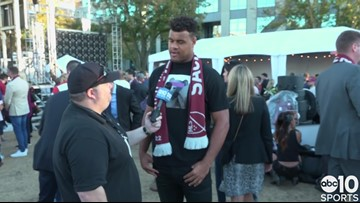 49ers star Arik Armstead thrilled for MLS in his hometown of Sacramento