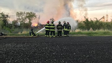 Pallet fire causes power outages, office closures in Stockton | Update