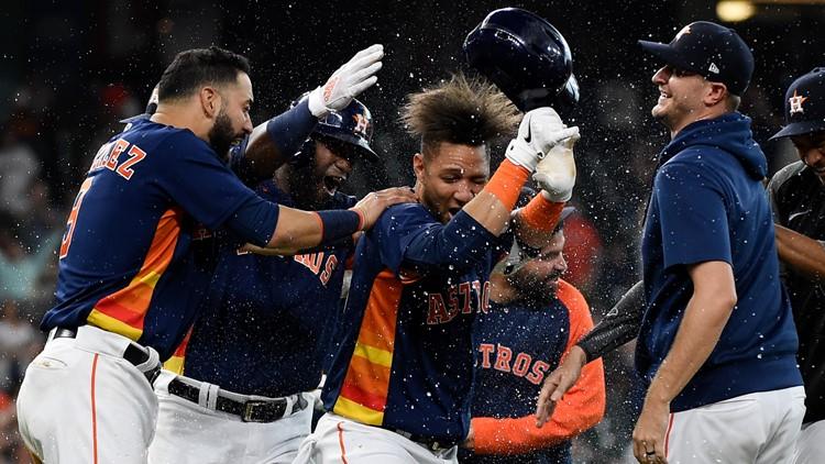 AL batting champion Gurriel lifts Astros over A's 7-6