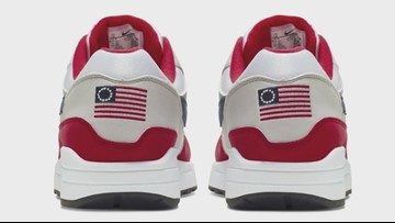 What's with the controversy surrounding Nike and the 'Betsy Ross' flag? | Connect the Dots