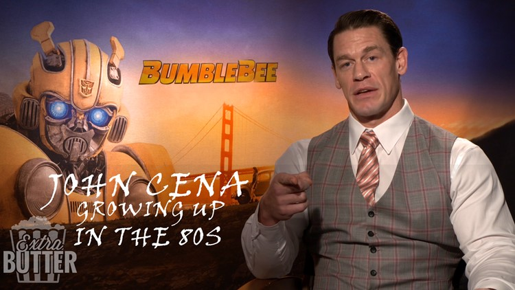 John Cena: Growing up in the 80's   'Bumblebee' interview   Extra Butter