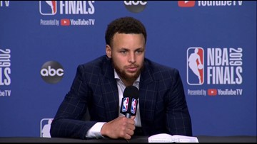Stephen Curry on Warriors forcing a Game 6, losing Kevin Durant again to injury | 2019 NBA Finals