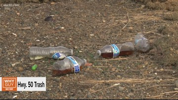 Why Guy: Why doesn't Cal Trans clean up trash along Highway 50 near El Dorado Hills?