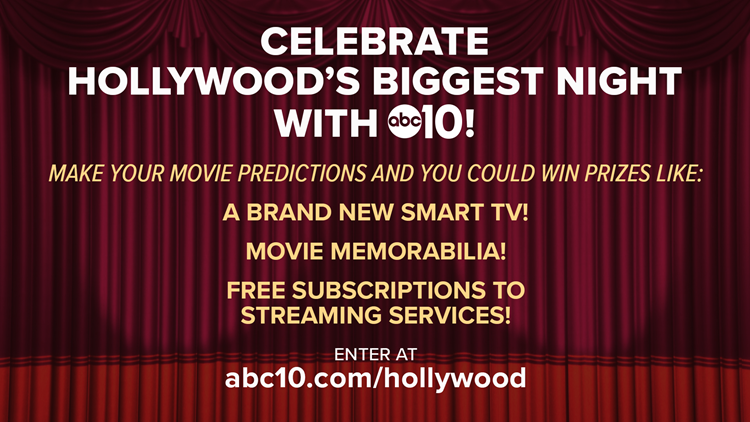 Hollywood's Biggest Night Prize Pack could be yours!