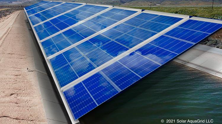 UC Merced study: Solar panels over California canals 'makes a lot sense' in renewable future
