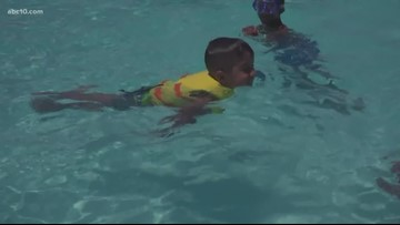 Staying cool during the summer with spray parks and community pools