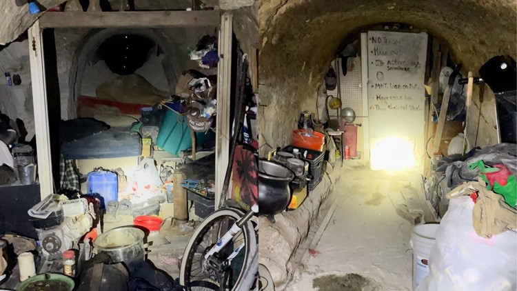 Homeless person allegedly lived in El Dorado mineshaft for years, deputies say