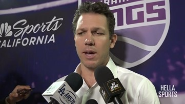 Sacramento Kings head coach Luke Walton impressed with 112-103 win over Clippers in L.A.