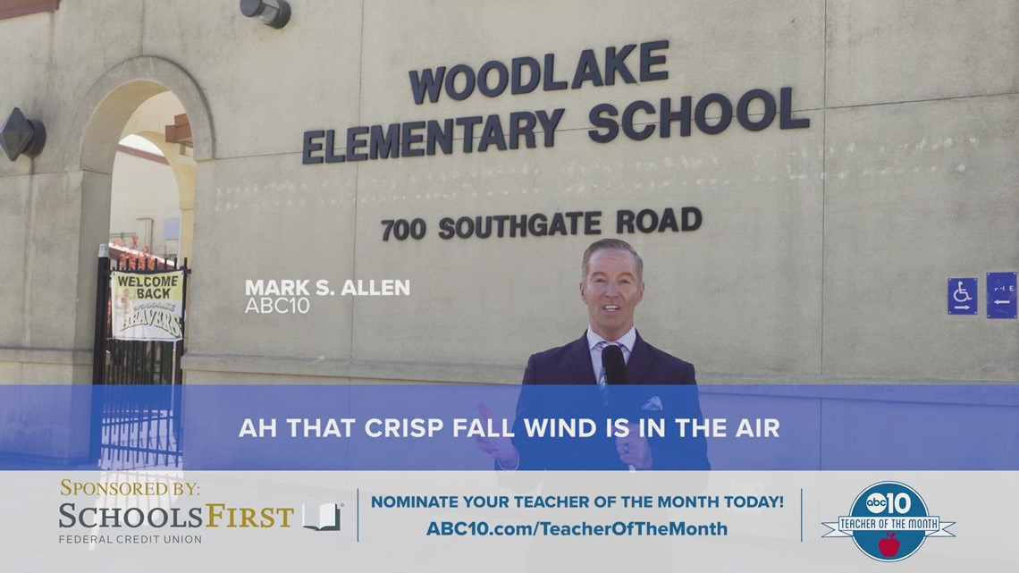 October 2021: ABC10's Teacher of the Month is Alexa Ganter