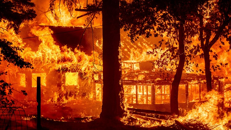 The Dixie Fire is now one of the 15 largest wildfires in California history