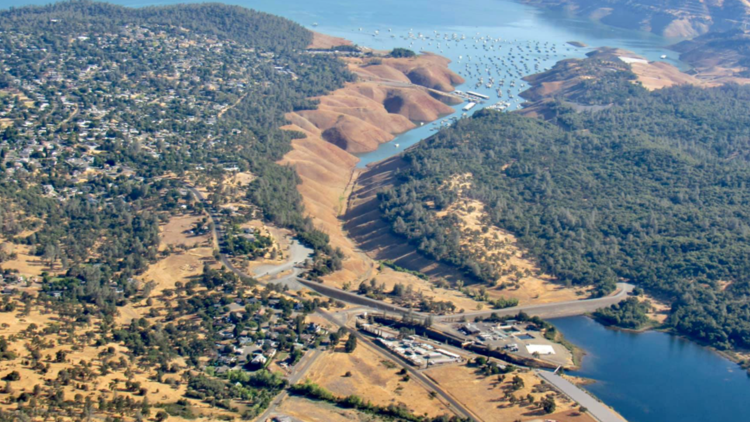 Low water levels threaten to shut down hydroelectric plant near Lake Oroville