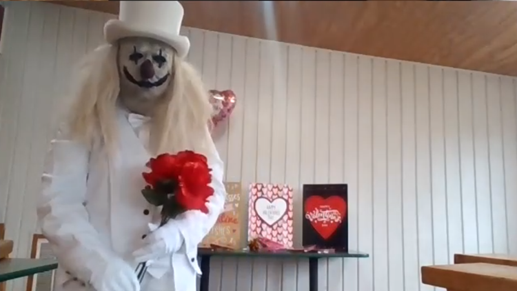 Ranch of Horror sends in the clowns for a twist on Valentine's Day grams