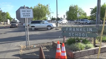 Elk Grove's Franklin Elementary School is on the move, ending issues with pedestrian safety