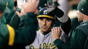 Athletics beat Mariners' 1-0, will host AL wild-card game