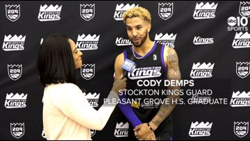 Sacramento native Cody Demps returns to Stockton Kings G-League roster | FULL INTERVIEW