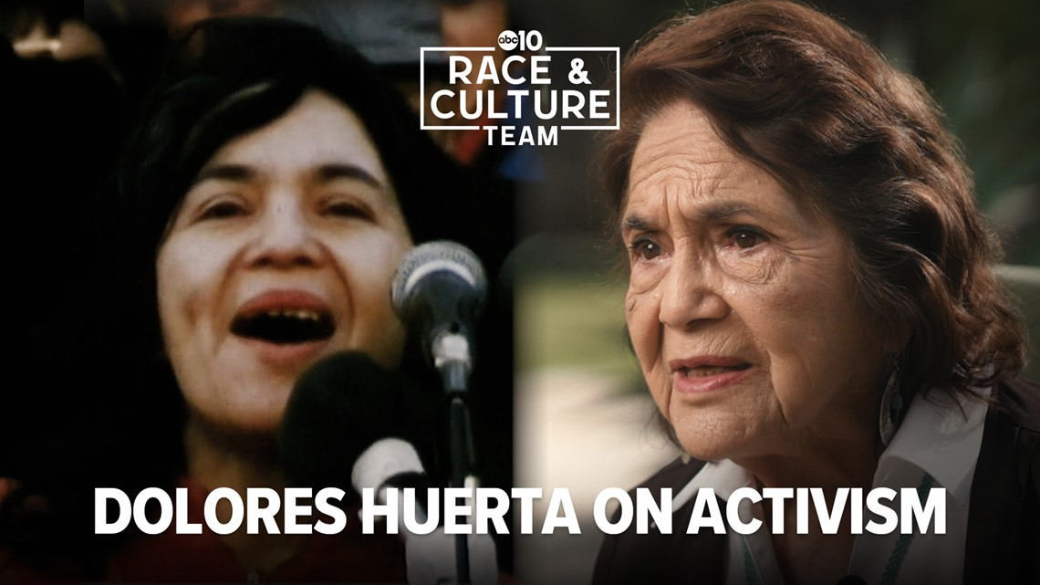 Dolores Huerta continues fight for civil rights   Race and Culture