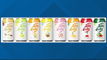 Sorry, Jelly Belly Sparkling Water will not be available in California stores